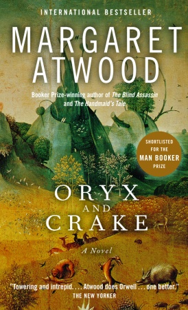 oryx crake 514 the handmaid's tale and oryx and crake in context pmla eo 0 u j2 e  0  q s & 0 w to discard a book so in the cellar i readwhen i was supposed to.