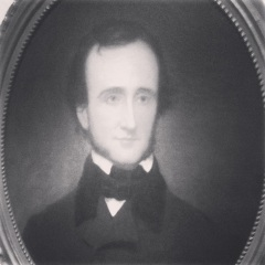 Edgar Allen Poe (phone picture)